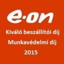 E.ON kiváló beszállítói és munkavédelmi díj 2015